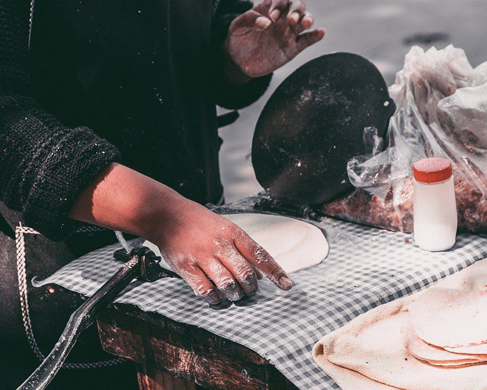 Talos de maiz y la cultura vasca